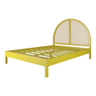 Eva Bed - Queen - Citron For Sale