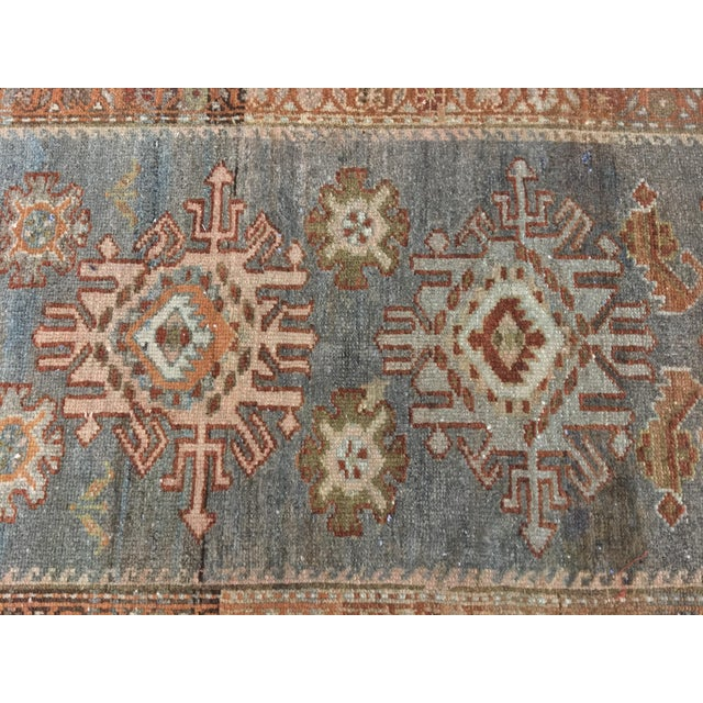 Antique Persian Malayer Runner - 2′10″ × 19′ - Image 4 of 11