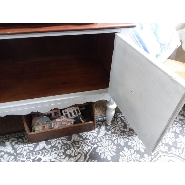 1930s Rustic Farmhouse Server Buffet For Sale - Image 4 of 8