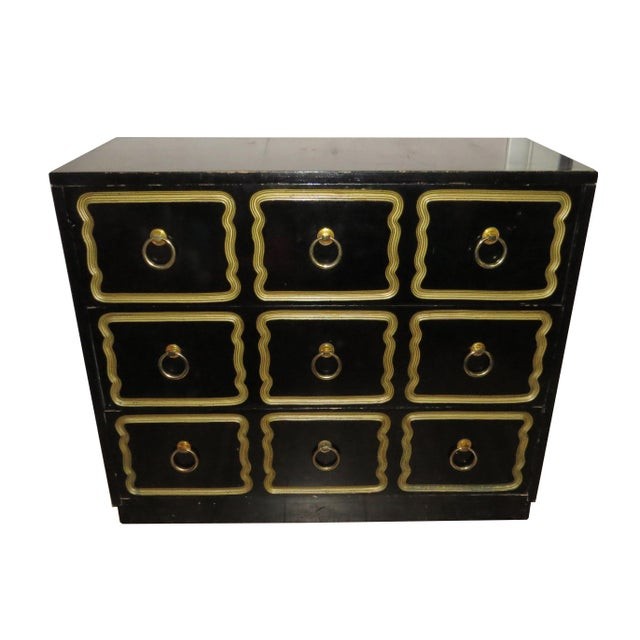 1950s Vintage Dorothy Draper Espana Style Chest of Drawers For Sale In Chicago - Image 6 of 11