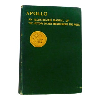 """1917 Apollo, Illustrated """"Art History Through the Ages"""" Book"""