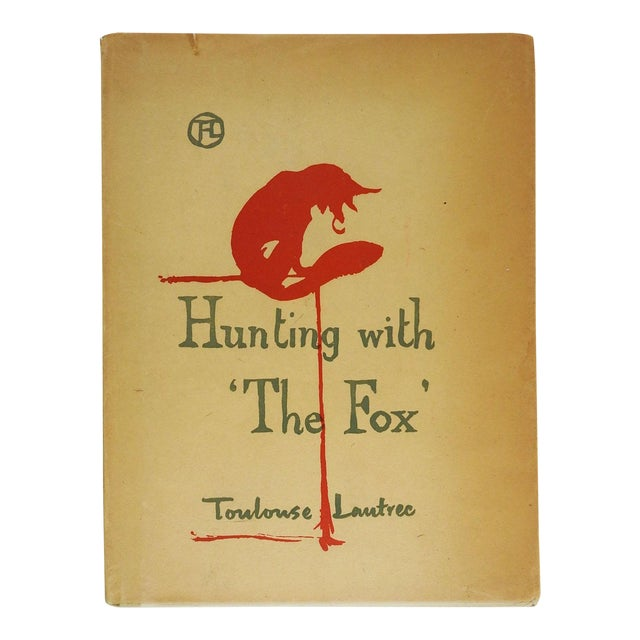 Hunting With the Fox by Toulouse-Lautrec Book For Sale