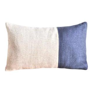 Claire Boudoir Pillow   Indigo For Sale