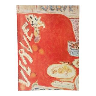 1939 Vintage Matisse Lithograph-Verve-Paris-Folio Size