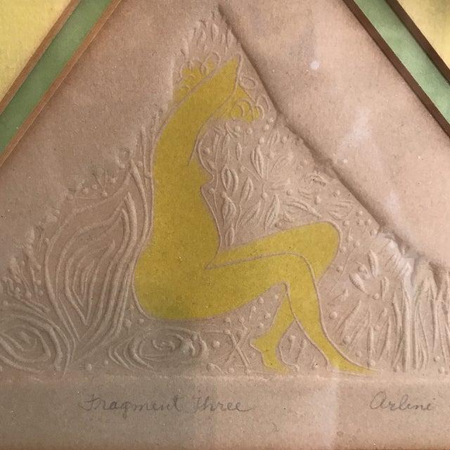 "Arlene Sherman ""Fragment Three"" Framed Print | Chairish"