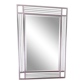 Modern Contemporary Wall Mirror For Sale