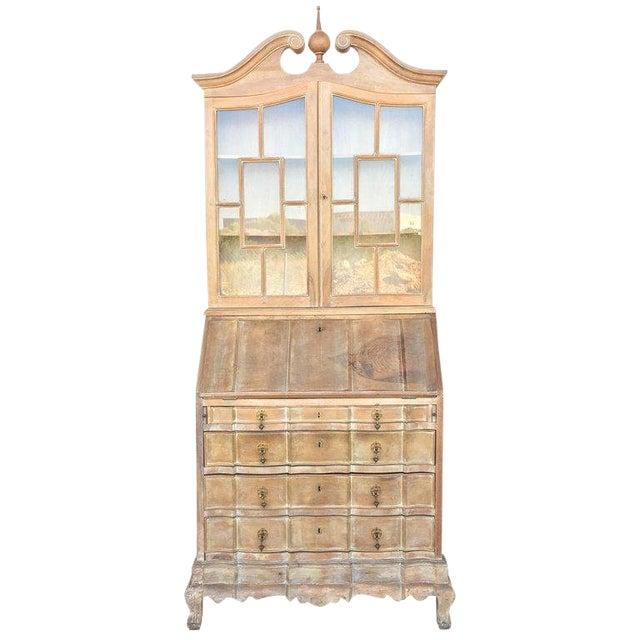 20th Century George III Secretary Bookcase For Sale