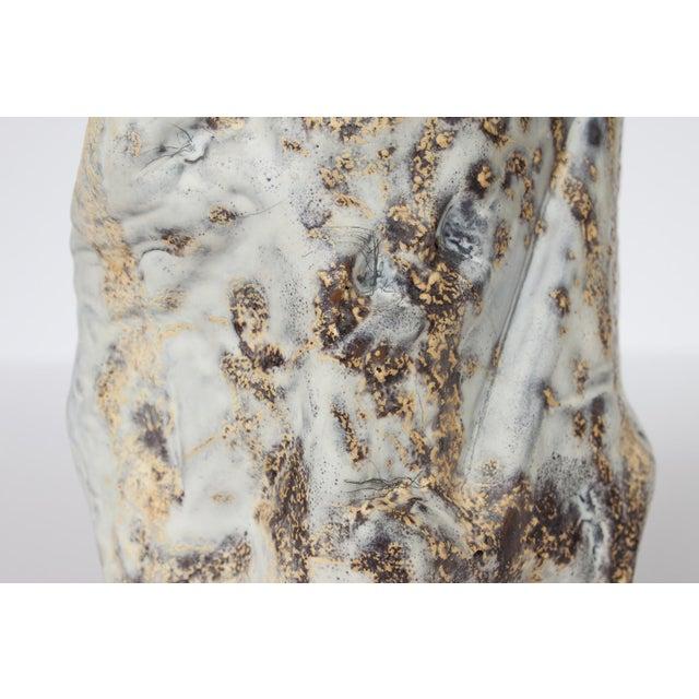 Marcello Fantoni Brutalist Ceramic Vase - Image 7 of 10