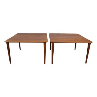Finn Juhl Teak Side Tables - Pair