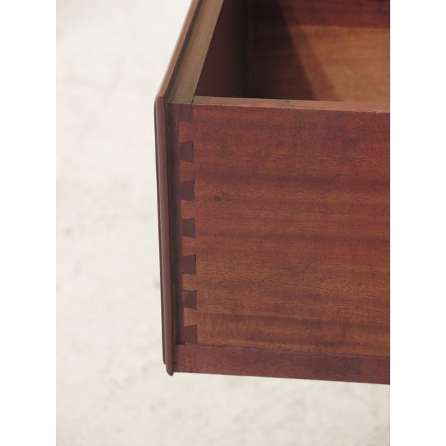 Biggs Ball & Claw Chippendale Mahogany Lowboy For Sale - Image 9 of 12