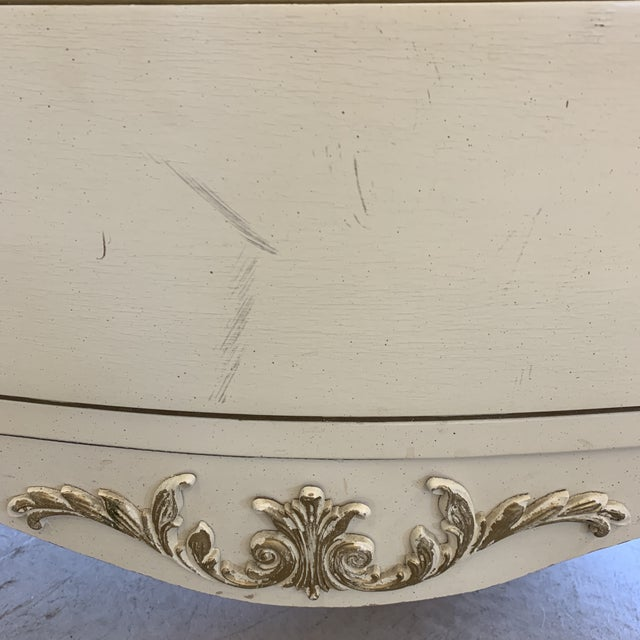 French Provincial Nightstand Chests - a Pair For Sale - Image 12 of 13