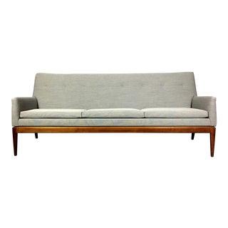 1950s Vintage Jen Risom American Modern 3-Seat Sofa For Sale