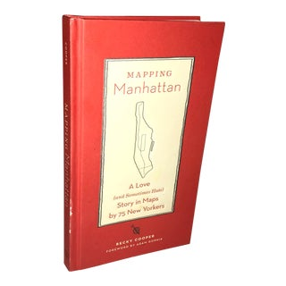 Mapping Manhattan a Love Story in Maps Book For Sale