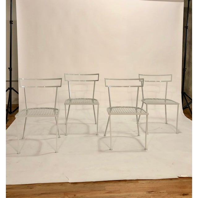 Klismo Patio Dining Chairs - Set of 4 For Sale - Image 9 of 9
