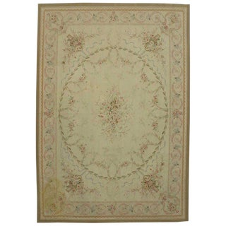 20th Century French Victorian Style Area Rug - 9′10″ × 14′3″ For Sale