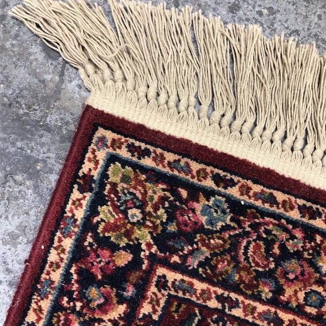 2ft6in × 5ft2in Karastan Red Sarouk Area Rug For Sale - Image 11 of 13