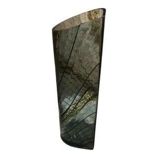 Vintage Oiva Toikka for Nuutajarvi Art Glass Vase For Sale