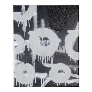 Original Spray Painting on Canvas by Jeffery Stuart For Sale