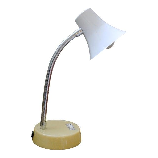 Mid 20th Century Mod Gooseneck Desk Lamp For Sale