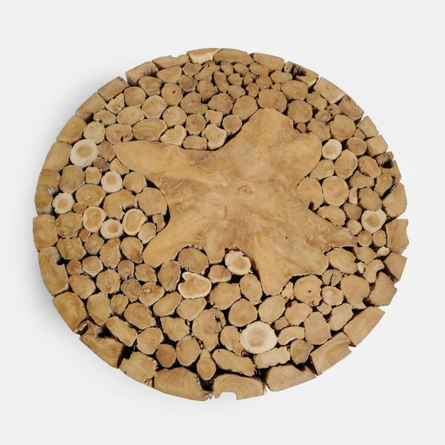Teak Root Coffee Table For Sale - Image 4 of 7