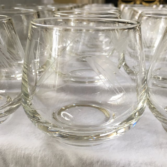 Ambassador to Italy's Crystal Punch Glasses & Bowl - Set of 73 For Sale - Image 4 of 12