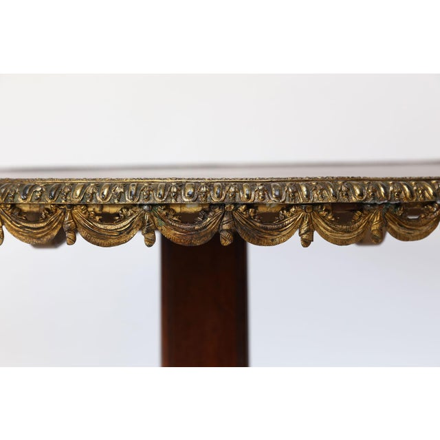 English Regency Center Table For Sale In Houston - Image 6 of 13