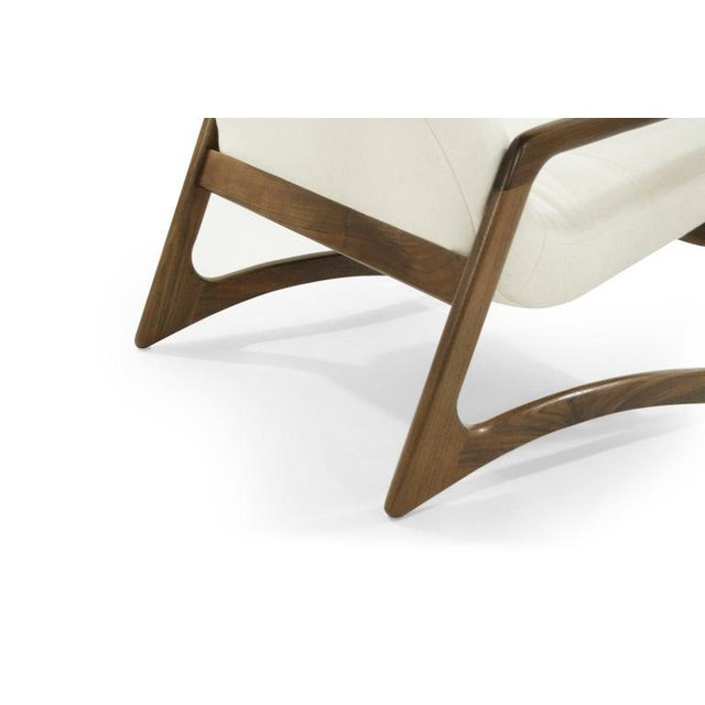 Sculptural Walnut Lounge Chairs by Adrian Pearsall for Craft Associates - a Pair For Sale - Image 12 of 13