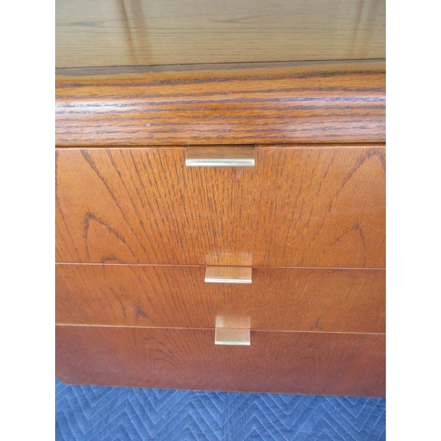 Mid-Century Modern 3-Drawer File or Storage Cabinet With Rounded Corners For Sale - Image 11 of 13