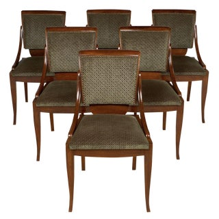 Austrian Art Deco Dining Chairs - Set of 6 For Sale