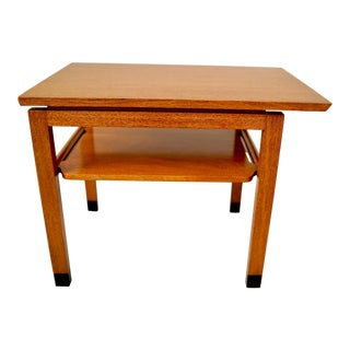 1950s Mid Century Modern Dunbar Ed Wormley Cantilever End Table For Sale
