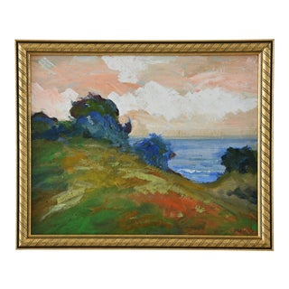 Juan Guzman Plein Air California Seascape Landscape Painting