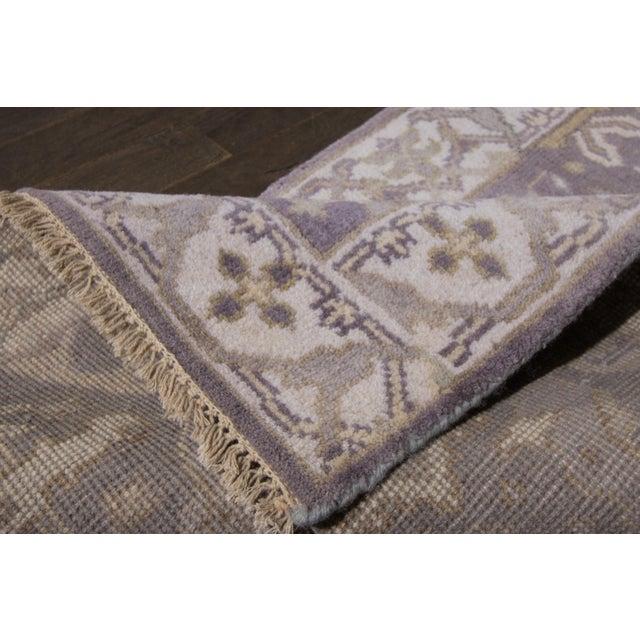 """Traditional Apadana - 21st Century Oushak Style Rug, 2'5"""" x 19'9"""" For Sale - Image 3 of 8"""