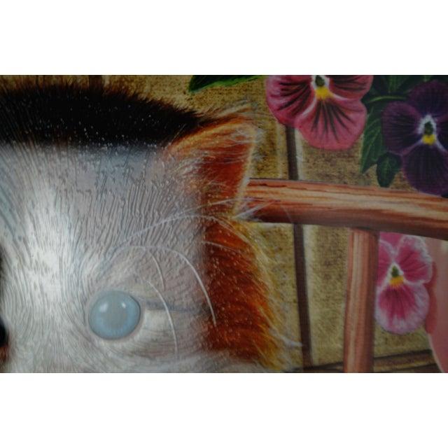 Vintage Signed Barbara Higgins Bond Sunday Brunch Limited Edition Textured Lithograph For Sale - Image 9 of 13