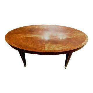 Regency Crotch Mahogany Coffee Table