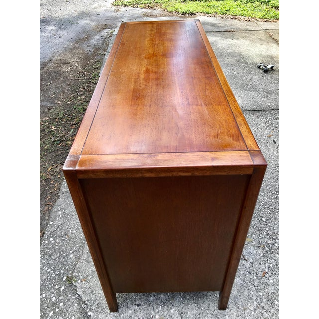 Walnut Basic-Witz Mid Century Modern Credenza Dresser For Sale - Image 7 of 10