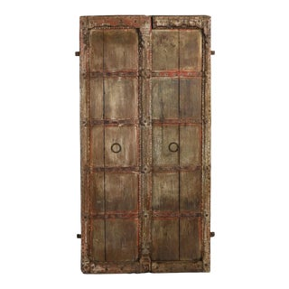 Indian Pordandar Doors - a Pair For Sale