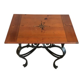 Traditional Baker Furniture Side Table For Sale