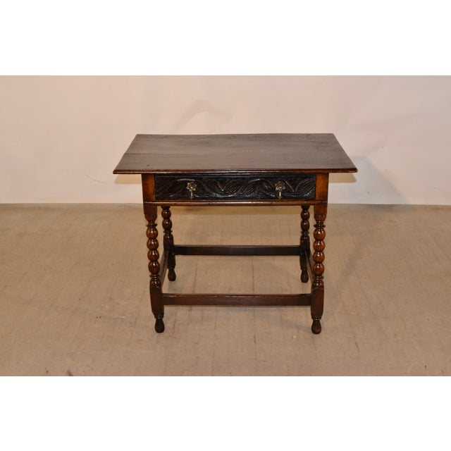 Mid 18th Century 18th Century English Side Table For Sale - Image 5 of 10