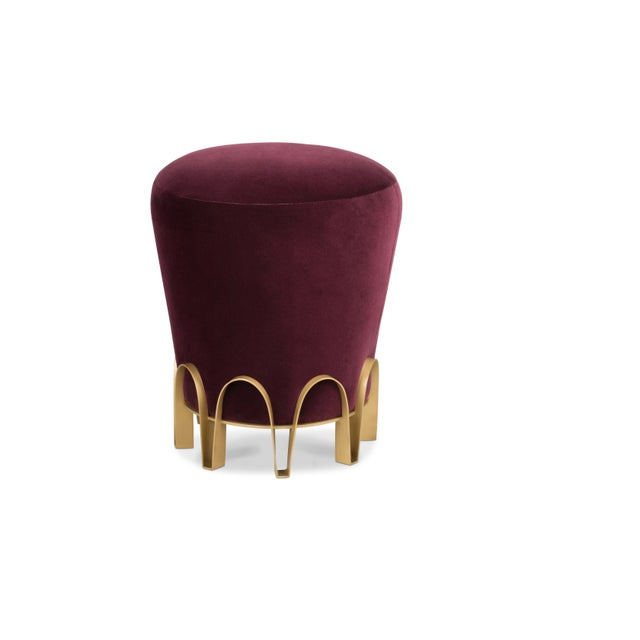 Purple Nui Stool From Covet Paris For Sale - Image 8 of 8