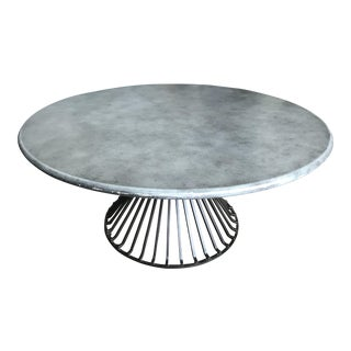 Industrial/Contemporary Cocktail Table