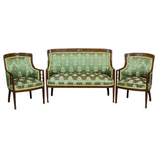 Art Nouveau Living Room Set Circa 1900-1910 For Sale
