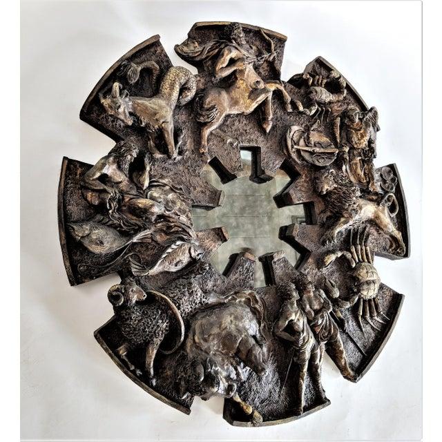 Bu Finesse Originals Zodiac Wall Mirror For Sale - Image 9 of 13