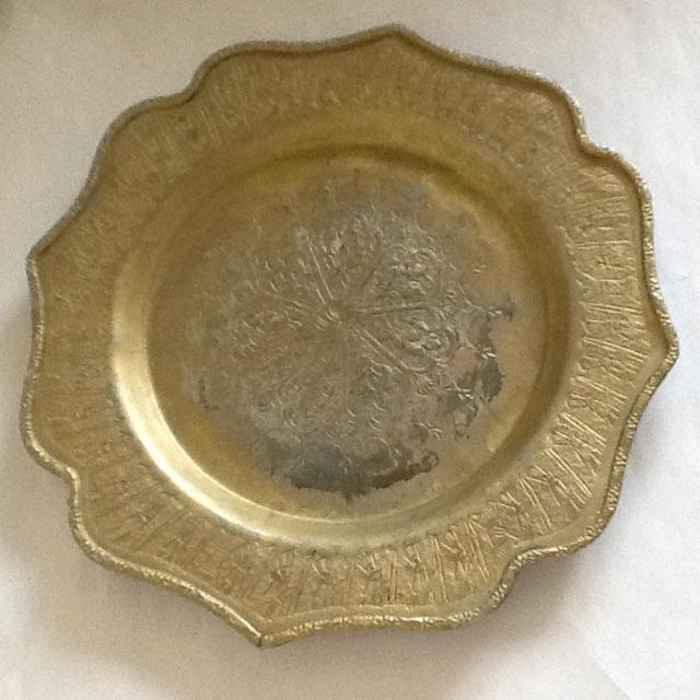 Vintage Moroccan Metal Tray - Image 8 of 8