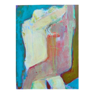"Contemporary Figurative Painting by Robin Okun Art, ""Dance"" For Sale"