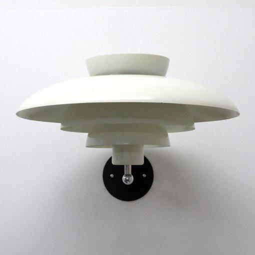Mid-Century Modern Horn Danish Wall Light For Sale - Image 3 of 11