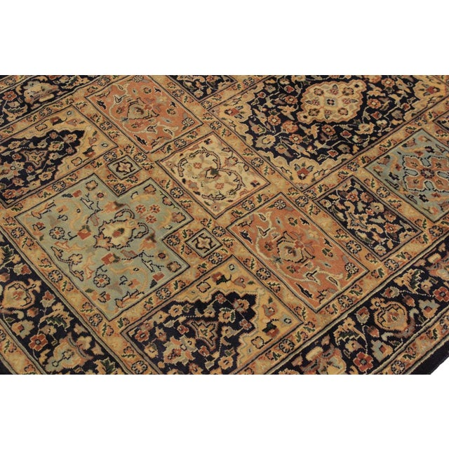 1980s Vintage Bokhara Wanetta Wool Rug - 4′2″ × 6′10″ For Sale In New York - Image 6 of 8