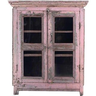 Shabby Chic Pink Mist Cabinet