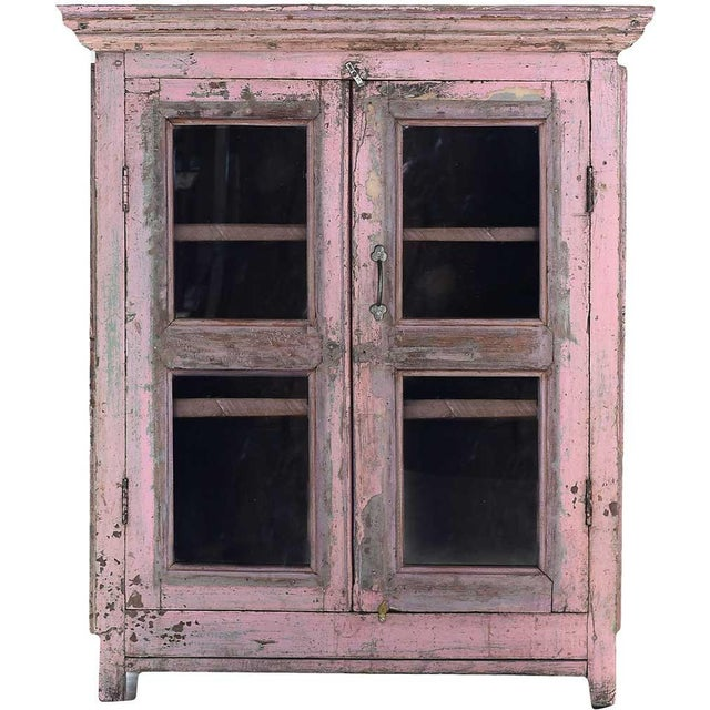 Kitchen Cupboards For Sale Ontario: Shabby Chic Pink Mist Cabinet