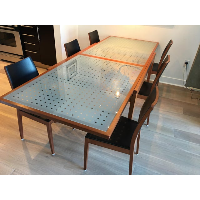 Calligaris Bon Ton Extension Dining Table Chairs Set Set Of 7