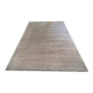 Wave Dusty Blue Rug- 7′11″ × 10′11″ For Sale